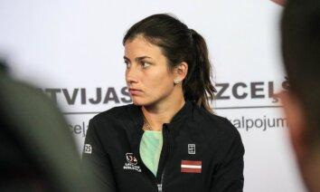 Sevastova vēdera vīrusa dēļ izlaidīs prestižo Štutgartes WTA 'Premier' turnīru
