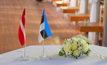 Foto: Igaunijā rit gatavošanās Ilvesa un Kupces kāzām