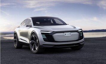 Elektroauto 'Audi e-tron Sportback' ražošana tiks uzsākta 2019. gadā