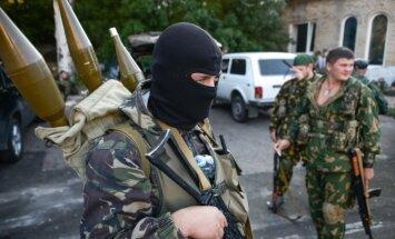 Doņeckā un Luhanskā izzog naudu un humāno palīdzību; iedzīvotāji gatavojas protestiem