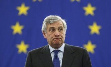 'Delfi' no Strasbūras: Pēc Tajani uzvaras sabrūk EP lielā koalīcija
