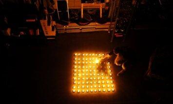 Страуюма призвала латвийцев сегодня на час отказаться от электричества