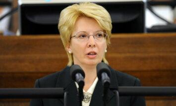 Saeimas priekšsēdētāja mudina nekavējoties stiprināt Latvijas austrumu robežu