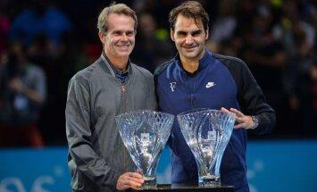 Federers pārtraucis sadarbību ar Stefanu Edbergu