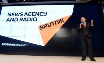 Lietuvas Valsts drošības departamentam bažas par Krievijas propagandas projektu 'Sputņik'