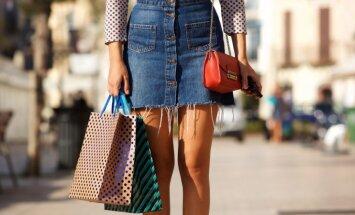 Pieci stilīgi varianti – ar ko valkāt džinsa svārkus