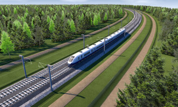 Министр приостановил правила Олайнской думы о локальной планировке Rail Baltica