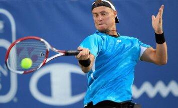 'US Open' pamet Hjūits un Berdihs, Džokovičs un Marejs - ceturtdaļfinālā