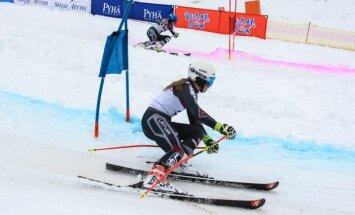 Zvejnieks un Bondare uzvar Baltijas kausa posma paralēlajā slalomā