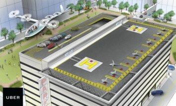 'Uber' vēlas būvēt lidojošus auto