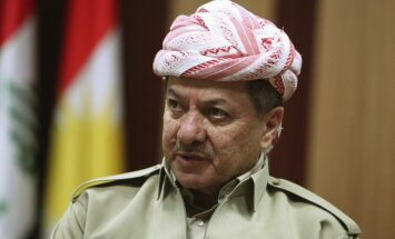 Barzani atstās Irākas Kurdistānas prezidenta amatu