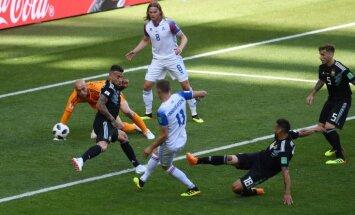 Лучшие моменты второго и третьего игрового дня ЧМ: голы Роналду и исландцев