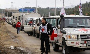 Sīrijas valdība atļauj humānās palīdzības piegādes aplenktajiem rajoniem