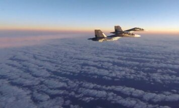 Video: Kā NATO iznīcinātāji pārtver Krievijas Su-30 Baltijas valstu tuvumā