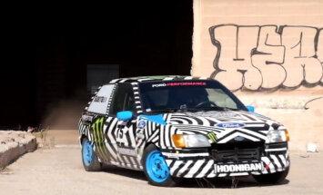 Video: Parodija par Kenu Bloku ar 60 zirgspēku 'Ford Fiesta'