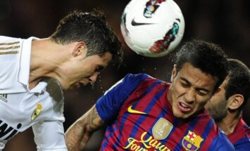 Madrides 'Real' pēc uzvaras 'El Classico' duelī sper platu soli pretī triumfam Spānijas čempionātā