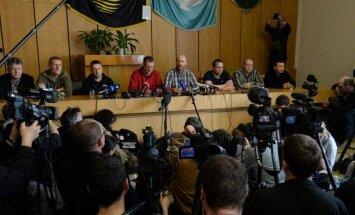 Slovjanskā atbrīvots viens no Eiropas militārajiem novērotājiem