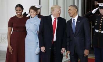 Tramps ar dievkalpojumu un tēju pie Obamas sāk inaugurācijas dienu