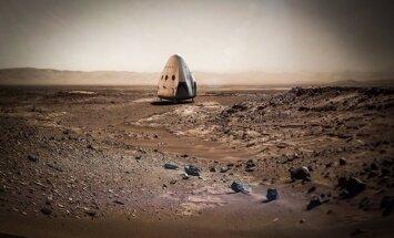 SpaceX: космический корабль отправится на Марс в 2018 году