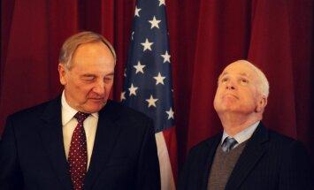 Makeins noliedz ziņas par jaunas militāras bāzes izveidošanu Latvijā