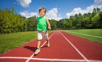 Iesildīties, nenokavēt startu un neapmaldīties – svarīgi padomi 'Rimi' bērnu maratonistiem