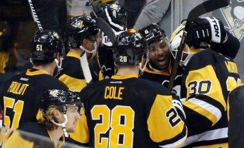 'Penguins' Stenlija kausā nonāk uzvaras attālumā no 'Capitals' izslēgšanas