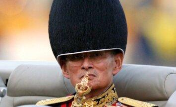Miris pasaulē ilgāk valdošais monarhs Taizemes karalis Bhumibols Aduladejs