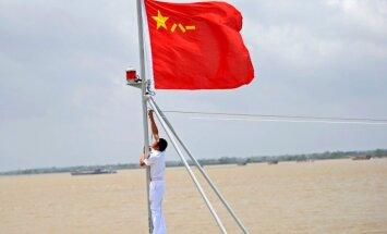 Ķīna paziņo par kontaktu saraušanu, jo Taivāna neatzīst 'vienas Ķīnas principu'