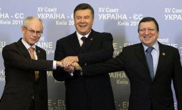 Янукович велел наказать авторов соглашения с ЕС