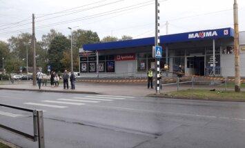 Рижское строительное управление согласовало ремонт поврежденного магазина Maxima