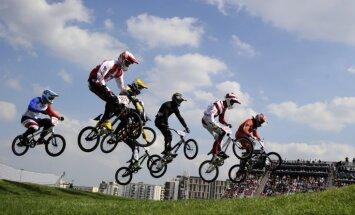 Treimanis, Veide un Krīgers startēs Pasaules kausa BMX superkrosā otrajā posmā