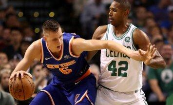 """Чемпионат НБА. Порзиньгис провел худший матч в сезоне, """"Нью-Йорк"""" снова проиграл"""