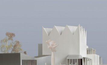 Kā izskatīsies jaunais Laikmetīgās mākslas muzejs? Arhitektu versijas