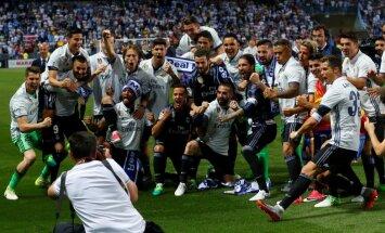 """ВИДЕО: """"Реал"""" спустя пять лет выиграл чемпионат Испании"""
