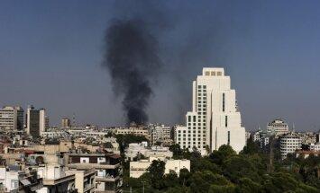 ASV: Pastāv pazīmes, ka Sīrijas režīms pielietojis ķīmiskos ieročus