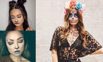 Lāčuki, kaķenes un pat zombiji: kā ar grima palīdzību iejusties Helovīna tēlā