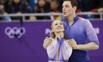 Daiļslidotāji Savčenko/Maso izcīna Vācijai astoto zelta medaļu Phjončhanas olimpiskajās spēlēs