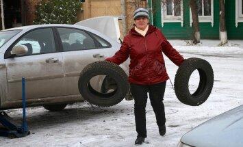 Aicina bez maksas nodot nolietotās auto riepas