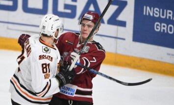 Video: Rīgas 'Dinamo' no Zvaigžņu spēles pārtraukuma atgriežas ar zaudējumu