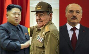Ziemeļkoreja, Kuba un Baltkrievija – valstis, kas nokļuvušas Rietumu ekonomikas sankciju 'melnajā sarakstā'