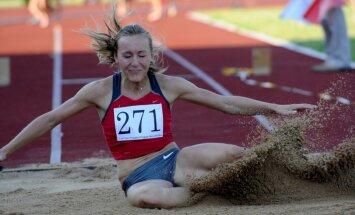 Mārai Grīvai otrā vieta vieglatlētikas sacensībās Zviedrijā