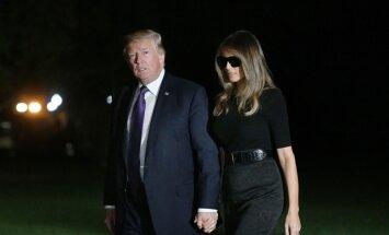 Melānija Trampa atkal izpelnās ļaužu nievas