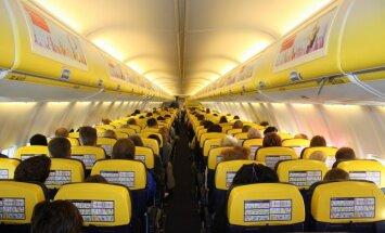'Ryanair' pasažieriem lidojumos piedāvās bezmaksas filmas