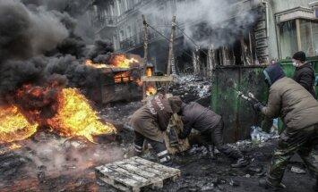 Krievijas portāls Ukrainas asiņainajos notikumos vaino Baltijas valstis