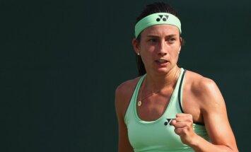 Севастова в четвертьфинале турнира в Чарльстоне уверенно победила Плишкову