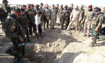 Irākā atrasti masu kapi ar 400 'Daesh' pastrādāto noziegumu upuriem