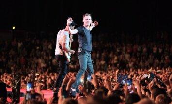ФОТО: Концерт Prāta vētra в Межапарке собрал свыше 50 тысяч зрителей