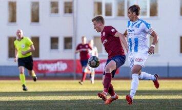 'Riga FC' apbēdina Paharu 'Jelgavas' galvenā trenera debijā