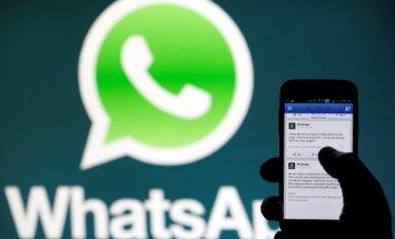 'WhatsApp' prasīs maksu no uzņēmumiem; 'Facebook' plāno sākt pelnīt ar lietotni