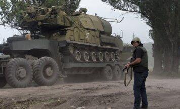 ASV apsūdz Krieviju par zenītieroču iesūtīšanu Austrumukrainā
